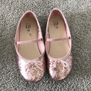 Gap glitter slippers